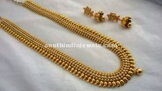 1 Gram Gold Jewellery Long Haram set