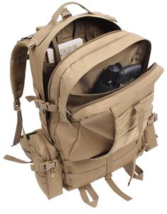 Coyote Brown 3-Day Global Assault Pack 25