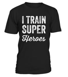 # I Train Superheroes Funny Movie T-Shirt .   I Train Superheroes Funny Movie T-Shirt Work hard, play hard! Intense funny trainer tee for superheroes with super powers. Push it to your limits in the gym with this shirt! This t-shirt is a great deal for a comic books lovers, trainers, fitness professionals, people getting in the best shape, super heroes, gym junkies, birthdays, anniversary or graduation.   TIP: If you buy 2 or more (hint: make a gift for someone or team up) you'll save quite…