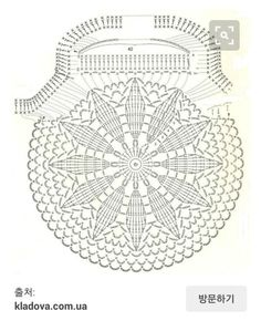 crochet circular bag front/back pattern/chartLittle crochet purse diagram. No PIC of finished item. Job Tatiana knitting and knitting patterns The place where construction meets design, beaded crochet is the act of using beads to embellish crocheted Crochet Shell Stitch, Bead Crochet, Crochet Motif, Crochet Doilies, Crochet Stitches, Crochet Round, Flower Crochet, Crochet Purse Patterns, Crochet Clutch