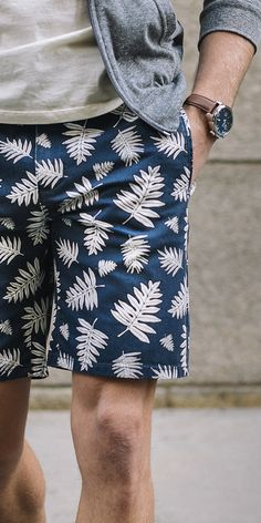 Let your stems breathe, and show off a little man thigh while you& at it. Shop shorts at JackThreads now. Looks Style, Looks Cool, Men Looks, Summer Wear, Spring Summer Fashion, Summer Outfits, Stylish Men, Men Casual, Spring Shorts
