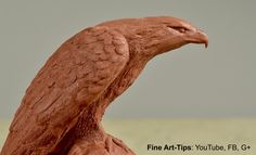 How to Sculpt an Eagle - How to Model an Eagle in Clay - Sculpture Tutorial