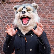 MAN WITH A MISSION  リブちゃん(画像・動画)可愛いすぎて悶える - NAVER まとめ Canada Goose Jackets, Winter Jackets, Teddy Bear, Man With, Animals, Winter Coats, Animaux, Animal, Animales