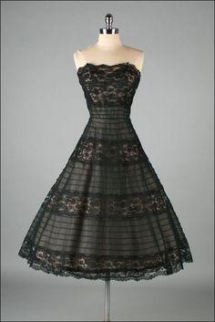 Vintage 1950s Dress HENRY CONDER