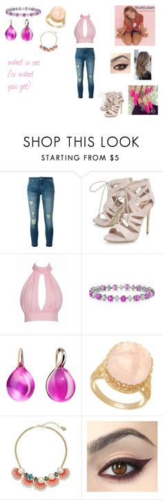 """What U See (Is What You Get) by Britney Spears"" by ocean-goddess ❤ liked on Polyvore featuring MICHAEL Michael Kors, Carvela, Britney Spears, Pomellato, Lord & Taylor and Betsey Johnson"