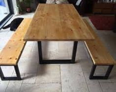 Image Result For Canteen Table And Bench