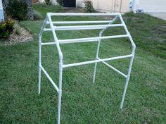 PVC towel drying rack