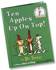 Ten Apples Up on Top Activity