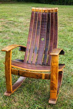 Wine Barrel Rocking Chair & Wine Barrel Adirondack Chair | Home | Pinterest | Barrels and Wines