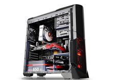 Amazon.com: Thermaltake Versa N21 Black Edition Translucent Window Panel SPCC ATX Mid Tower Computer Chassis CA-1D9-00M1WN-00: Computers & Accessories