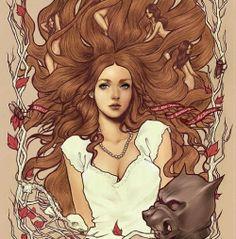 Sansa Stark fan art