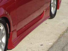 92-95 93 94 Honda Civic HB TSC2 Style Side Skirts by ViS