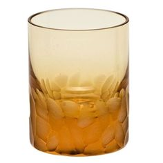 Moser Pebbles Topaz Shot Glass