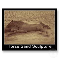 horse sand sculpture - Google Search