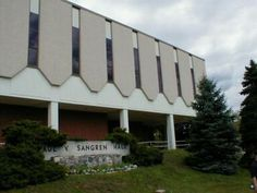 Western Michigan University - Sangren Hall...where I spent a year for my Master's in Blind Rehabilitation!