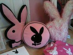playboy bunny pillows