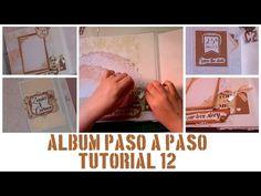ÁLBUM PASO A PASO - TUTORIAL 12: DECORACIÓN DE LAS PÁGINAS (LAYOUT INTERIOR) - YouTube Mini Albums, My Love Story, Scrapbook Albums, Layout, Baby Shower, Make It Yourself, Blog, Interior, Mini Scrapbook Albums