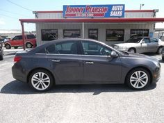2011 Chevy Cruze LTZ pkg with only 50,000 miles looks and drives just like new and its loaded . Ice cold air and a real gas sipper loaded with sunroof ,alloy wheels,heated seats, xm radio, keyless, tires like new fully loaded Cruze LTZ-you just found the perfect car with a clean car fax . Call today 334-396-5560 or 334-354-0123/visit www.johnnypearsonautosales.com