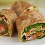Cooking Matters veggie wraps are a great healthy after school snack for the kids, or make for a perfect quick and healthy lunch! Healthy Lunch Wraps, Healthy Summer Recipes, Healthy Snacks For Kids, Snack Recipes, Cooking Recipes, Healthy Food, No Cook Meals, Kids Meals, Brit