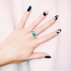 Madeline Poole's Stella McCartney-inspired nail art