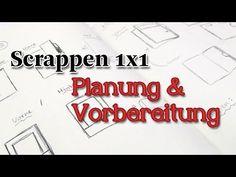[Scrappen1x1] Planung & Vorbereitung - YouTube
