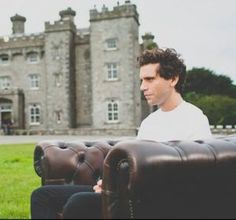 Mika X Factor home visit in Dublin