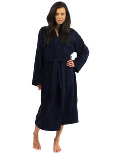 TowelSelections Plush Kimono Bathrobe Fleece Robe for Women and Men Made in Turkey Small/Medium Navy TowelSelections http://www.amazon.com/dp/B00PT4RBWW/ref=cm_sw_r_pi_dp_YIKKub1AX051P Not ne   Not necessarily this brand but do like the plush. Size small, please