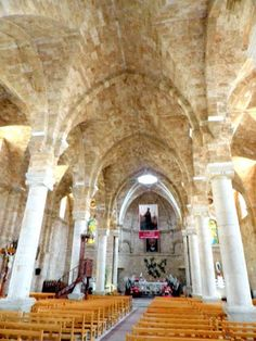 Maronite cathedral of St. Stephan, Batroun, Lebanon | Batroun : Saint Stephen Maronite Church(1860s)
