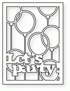 Papertrey Ink - Text Block: Party Time Die             $8.00