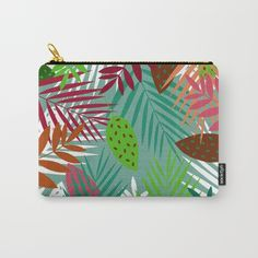 Leaves Jungle Carry-All Pouch