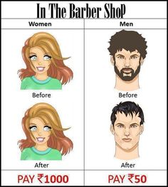 In the Barber Shop