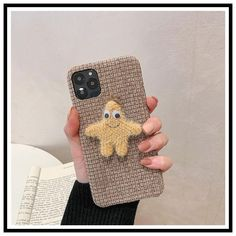 Fabric Patrick Star Shockproof Protective Designer iPhone #offwhitecaseiphone11promax Patrick Star, Mickey Mouse, Art Phone Cases, Plus 8, Monogram Styles, Minimalist Art, Iphone Models, Iphone Se, Protective Cases