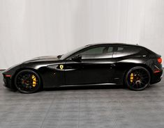 Visit The MACHINE Shop Café... ❤ Best of Ferrari @ MACHINE ❤ (Black Ferrari FF Supersaloon)