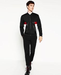 ZARA的图片 1 名称補釘飛行員夾克