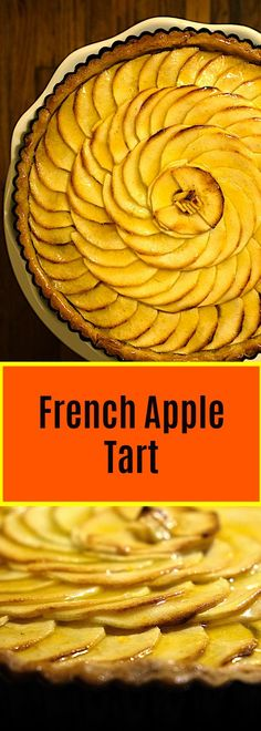 Apple Tart 10 apples go into to this mouthwatering French Apple Tart. Simply flavored with only vanilla, sugar and apricot apples go into to this mouthwatering French Apple Tart. Simply flavored with only vanilla, sugar and apricot glaze Tart Recipes, Best Dessert Recipes, Apple Recipes, Sweet Recipes, Holiday Recipes, Desserts, Dinner Recipes, Fruit Recipes, Yummy Recipes