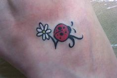 Ladybug Heart Tattoo Designs | ... just want a simple tattoo. I don't want a divorce over said tattoo
