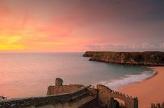 The definitive guide to all of Pembrokeshire's beaches. (This is Barafundle Bay.)