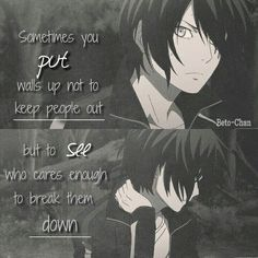 Shared by Mira-chan. Find, share, and collect images about quotes, anime and sad on We Heart It - the app to get lost in what you love.