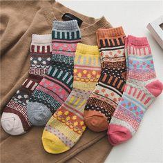 Winter Socks, Warm Socks, Cool Socks, Colorful Socks, Classic Collection, Keep Warm, Bold Colors, Colours, Vintage Christmas
