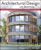 Architectural Design with SketchUp: Component-Based Modeling, Plugins, Rendering, and Scripting by Alexander Schreyer Architecture Student, Architecture Design, Landscape Architecture, Maker Culture, 3d Visualization, Luxury Homes, Facade, Beautiful Homes, Around The Worlds