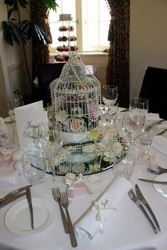 Angmering Manor Wedding by ConsumedbyCake, via Flickr Country House Hotels, Wedding Flowers, Table Settings, Table Decorations, Weddings, Home Decor, Decoration Home, Room Decor, Table Top Decorations