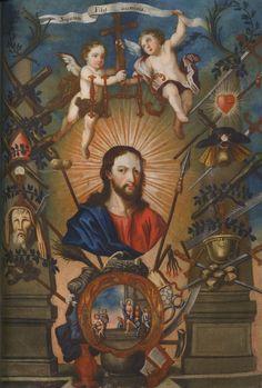Workshop of Bernardo Rodríguez (active 1775-1803)18th centuryOne of a series of fourteen known paintings on Christ and the Apostles. Monasterio del Carmen de San José (Carmen Alto), Quito, Ecuador.. 1975B
