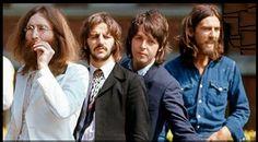 John Lennon, Richard Starkey, Paul McCartney, and George Harrison (Abbey Road)
