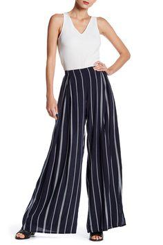 Striped Gaucho Pant