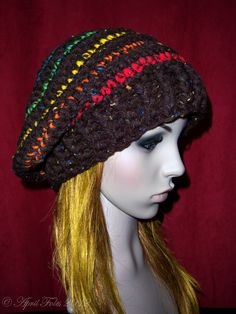 Quick and Chunky Slouchy Hat. This is my friend April's design. She is amazing!!!