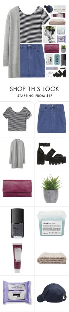 """""""for you i'd bleed myself dry ❁ // a collab with lidiya!"""" by annamari-a ❤ liked on Polyvore featuring Uniqlo, Windsor Smith, Status Anxiety, Lux-Art Silks, NARS Cosmetics, Davines, Korres, Scotch Shrunk, Maison Margiela and melsunicorns"""