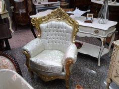 Divano barocco ~ Salotto in stile barocco composto da divano tre posti