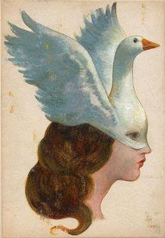 L'oie, a signed art print by Gérard Dubois Art Inspo, Potnia Theron, Art Vintage, Art Et Illustration, Art Graphique, Psychedelic Art, Aesthetic Art, Oeuvre D'art, Art Reference