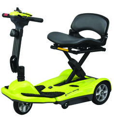 This Scooter is right for you if weight is your main priority and you are planning to use your scooter predominantly indoors and on even surfaces, such as airport terminals, well-paved pedestrian paths and shopping centres.