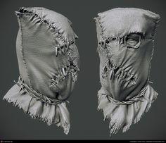 Brink Psycho Mask by Ben Davis | 3D | CGSociety
